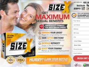 "«Size X Male Enhancement *UPDATE 2020* ""Size X Pills"" Price, Benefits?"
