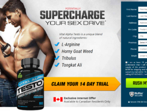 Vital Alpha Testo CA® (New 2020) Claim your Exclusive 14 Day Trial Today