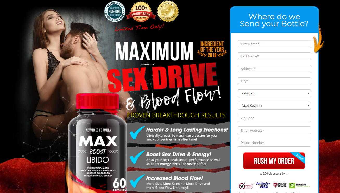 Max Boost Libido In Kenya & Nigeria | Advanced Max Boost *New 2020*