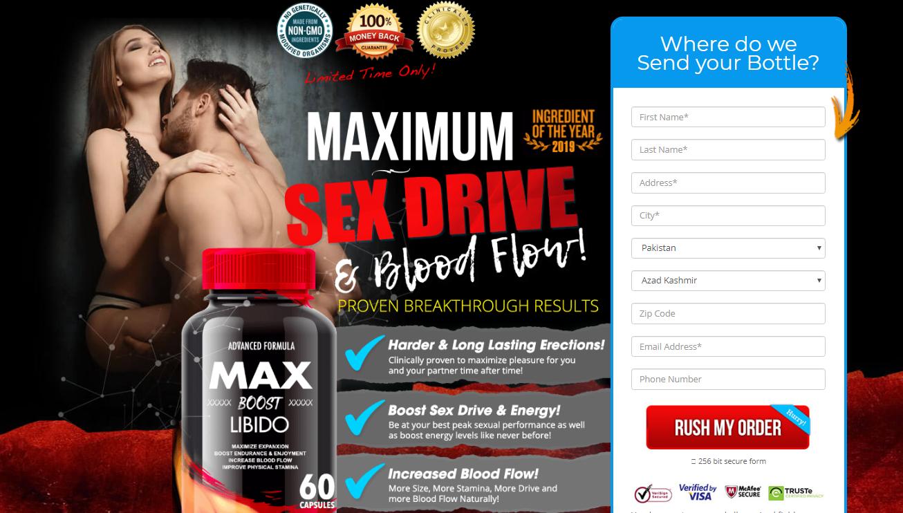 Max Boost Libido In Kenya & Nigeria  | Advanced Max Boost *New 2020*