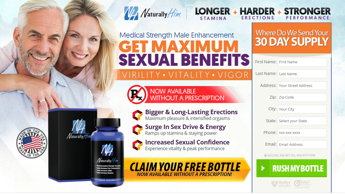 Naturally Him Male Enhancement {UPDATE 2020} Does Its Really Work Its?