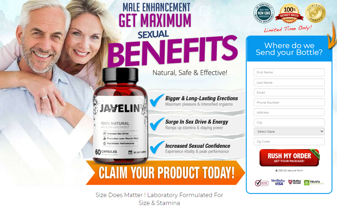 Javelin Male Enhancement *UPDATE 2020* Javelin Pills, Its Scam or Legit