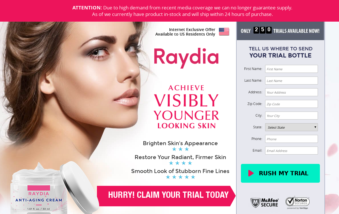 "Raydia Cream® *UPDATE 2020* ""Raydia Skin Cream"" Price, Reviews!"