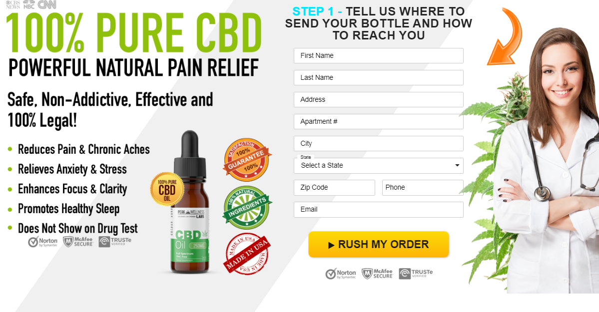 Peak Wellness Labs CBD Oil® (Updated 2020) Does Its Really Works?