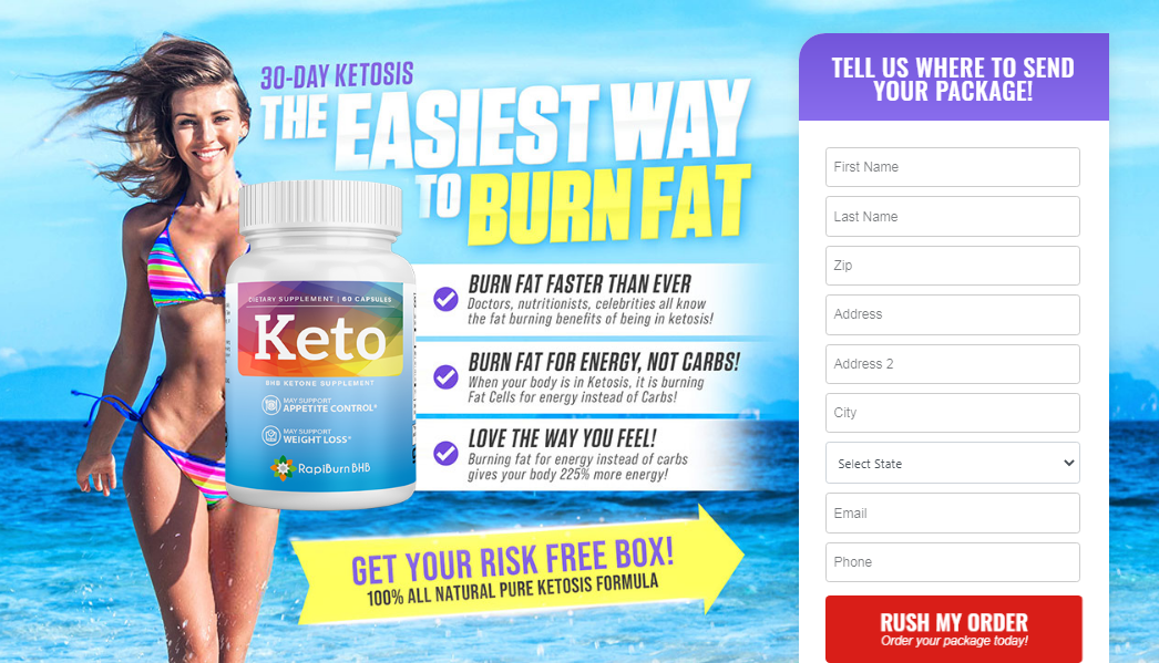 Rapiburn BHB Keto® #1 Wieght Loss Pills Stubborn Fat Lose Fast Reviews!