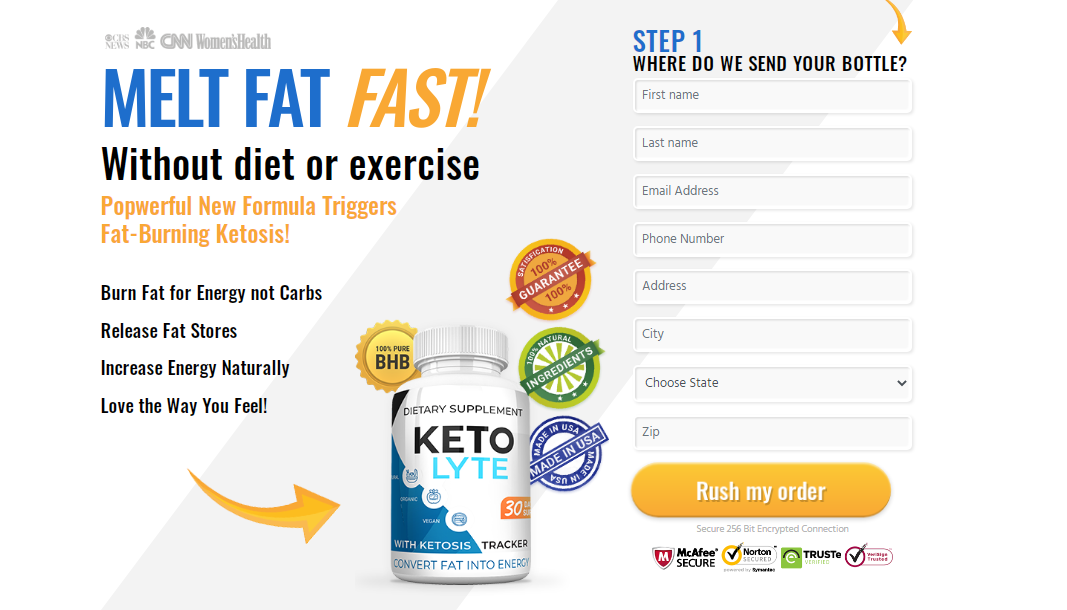 Keto Lyte®️ Diet Pills – The #1 Dietary Supplement That Burns Fat Reviews