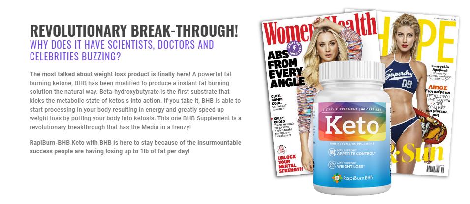 Rapiburn BHB Keto® #1 Wieght Loss Pills Stubborn Fat Lose Fast Reviews!