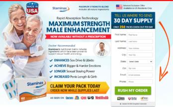 Staminax Male Enhancement Pills®【UPDATE 2020】Its Scam or Legit?