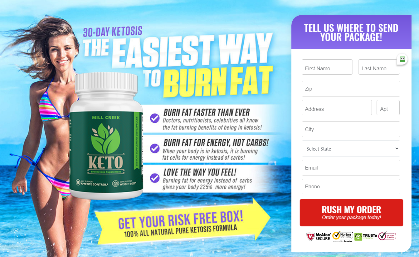 Mill Creek Keto Reviews® [Active in 2020] - 12 Things You Need to Know!