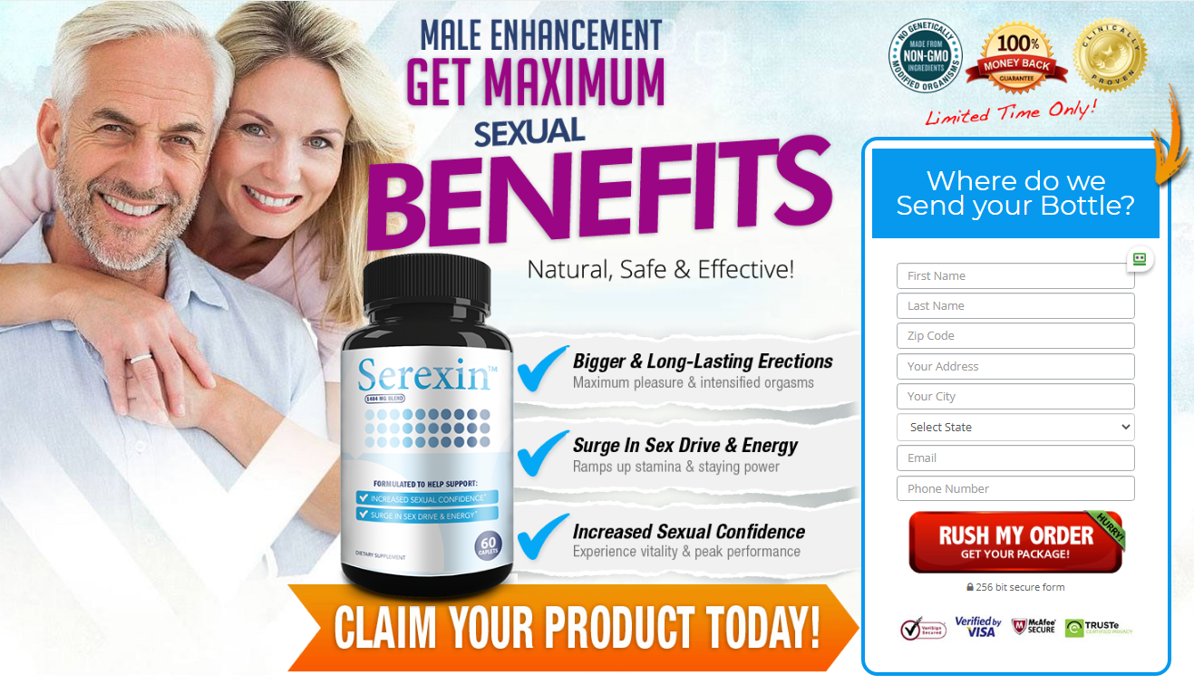 Serexin Male Enhancement® [Serexin Pills Legit] Must Read Before Buy!