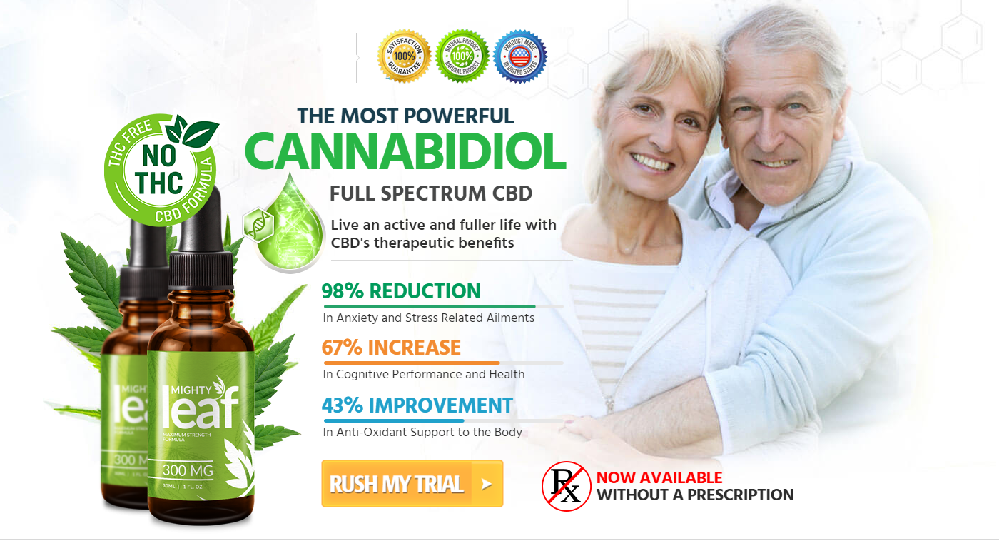 Mighty Leaf CBD Oil ® (UPDATE 2020) Its Scam or Legit?