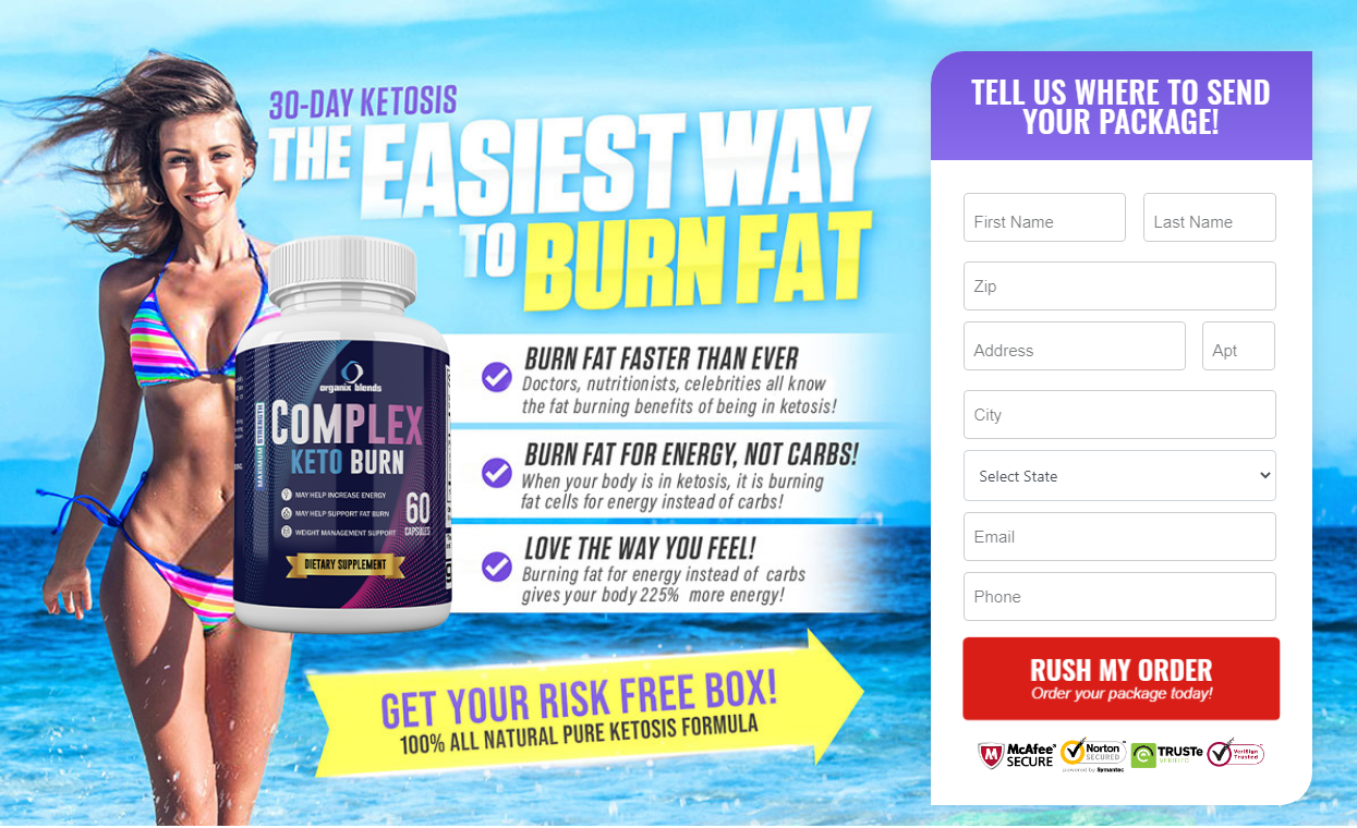 Complex Keto Burn Reivews ® [Organix Keto Blend] Does Its Save or Not?