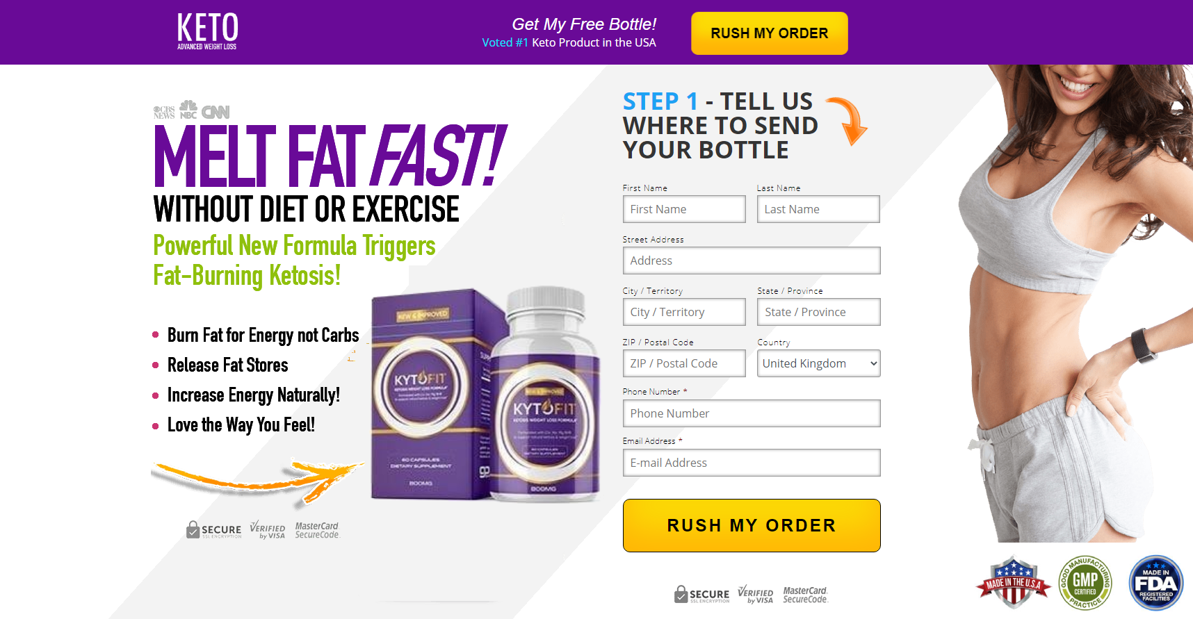 Kyto Fit Keto Reviews [Is Kyto Fit Keto Scam?] *Must Read Before Buying*