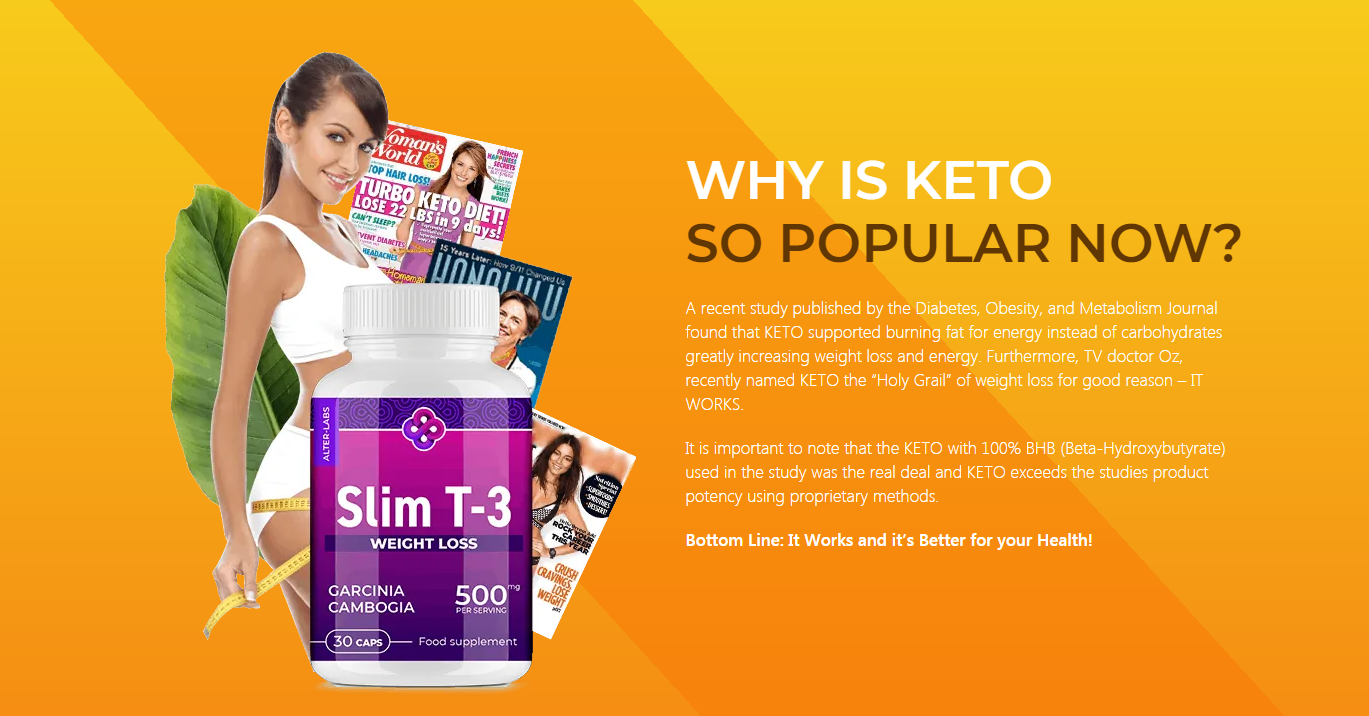 Keto Slim T-3 UK ® [Is Keto Slim T-3 A Scam] Reviews {100% Ketosis}