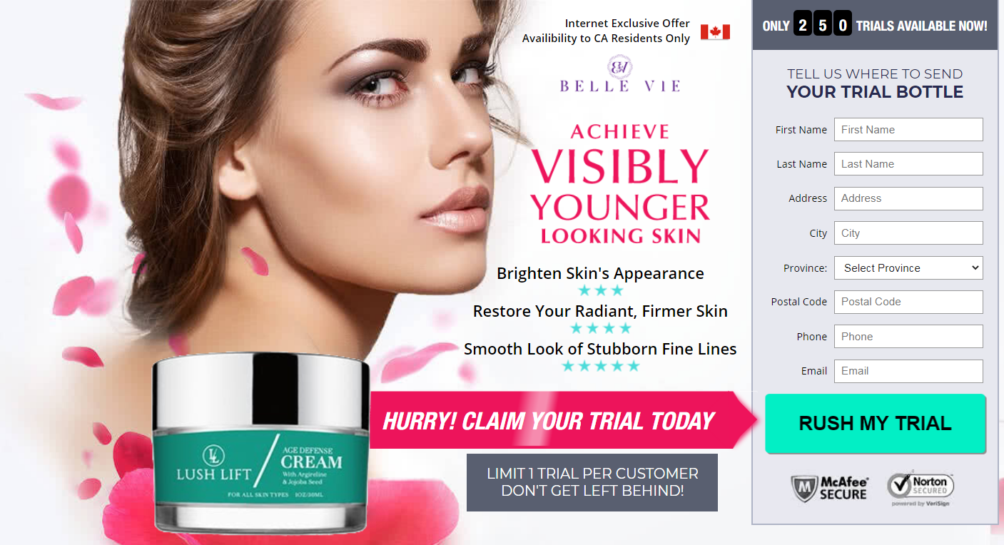 Lush Lift Cream® *ACTIVE 2020* {Scam or Legit} Must Read Before Buy!