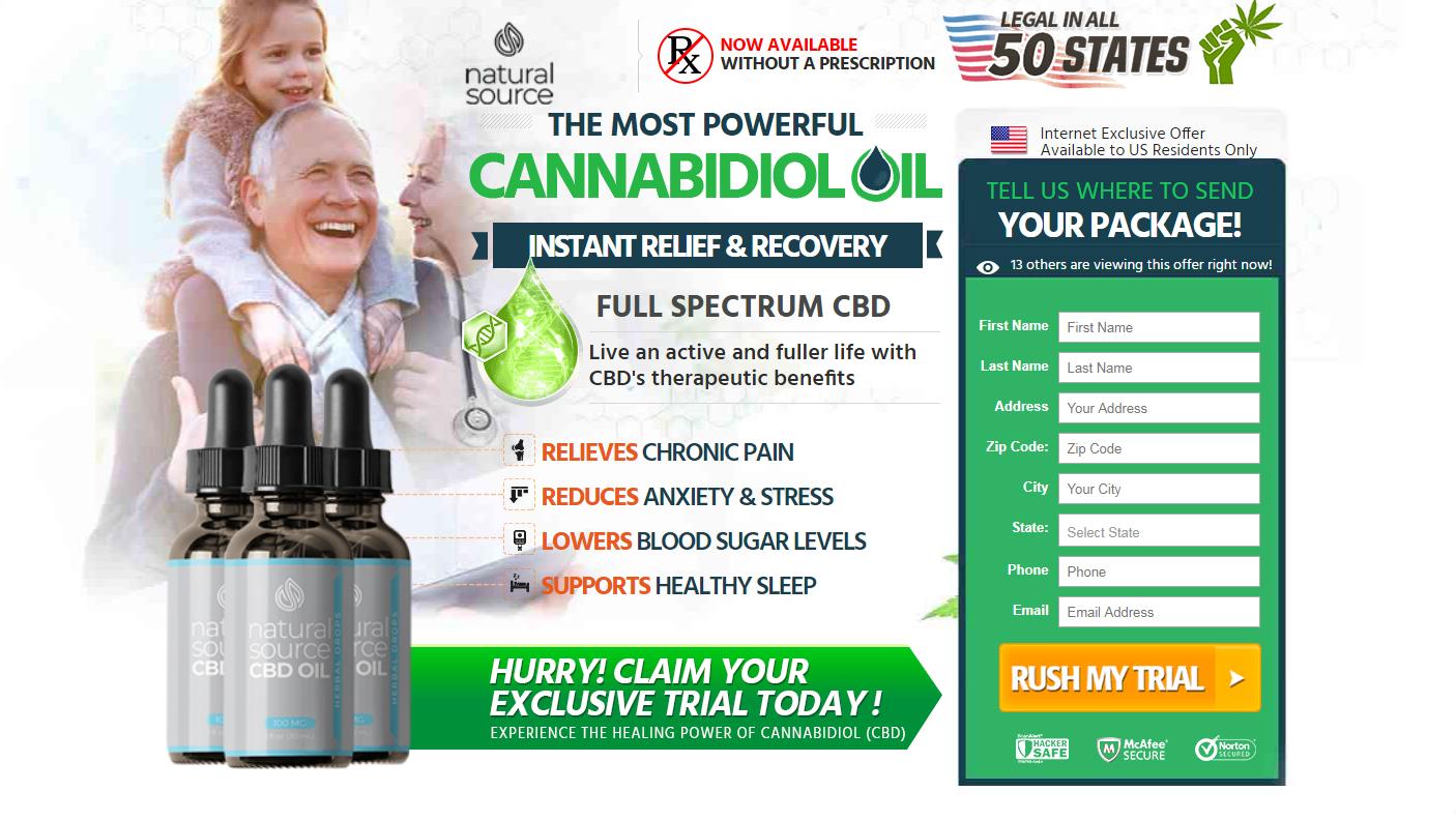 Natural Source CBD ® (Modify 2020) Price, Advantages, Disadvantages?