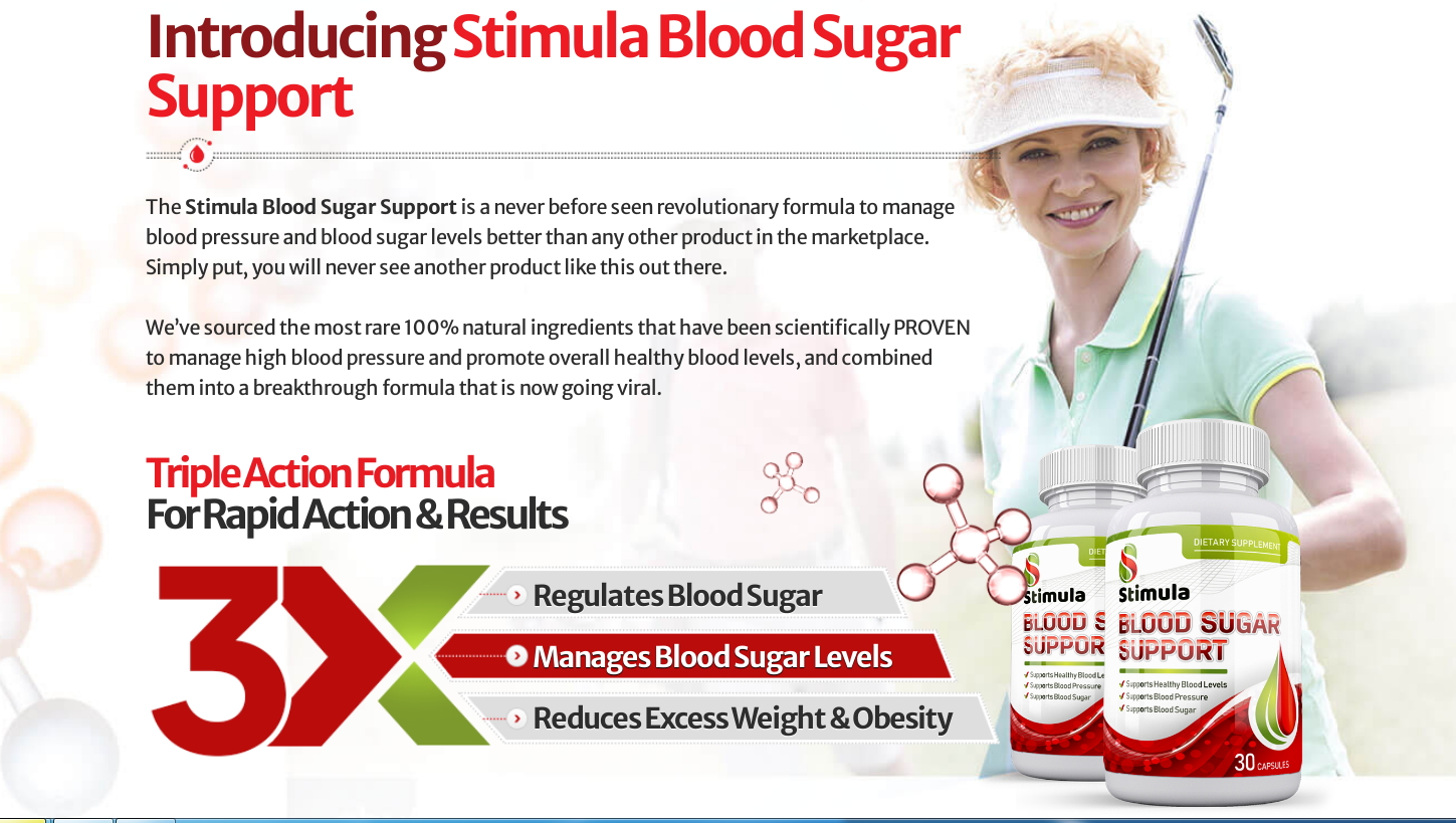 Stimula Blood Sugar Support® *UPDATE 2020* Does Its Really Works?