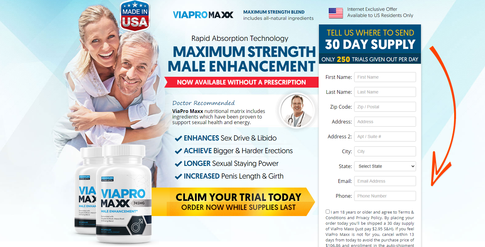 ViaPro Maxx [ViaPro Maxx Male Enhancement] 6 You Thing About Now