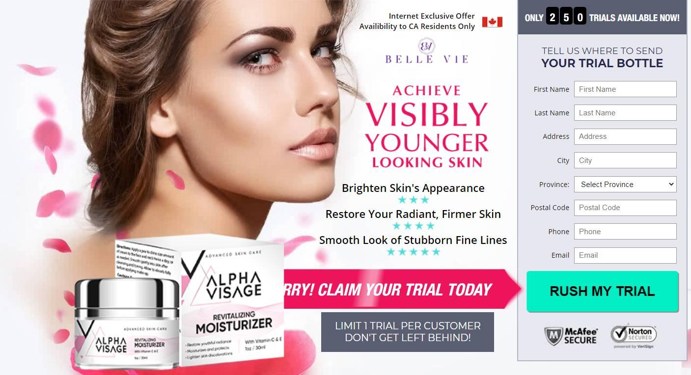 Visage Cream CA * New 2020* {canada} [Alpha Visage Cream 100% Legit]