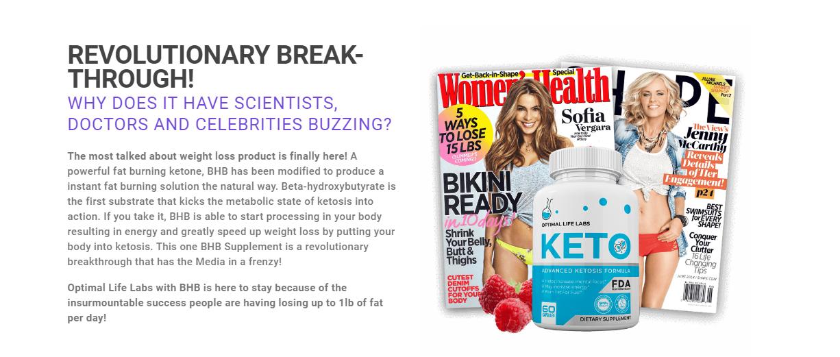 Optimal Life Labs Keto ®《Modify 2020》World #1 Ketogenic Diet Formula