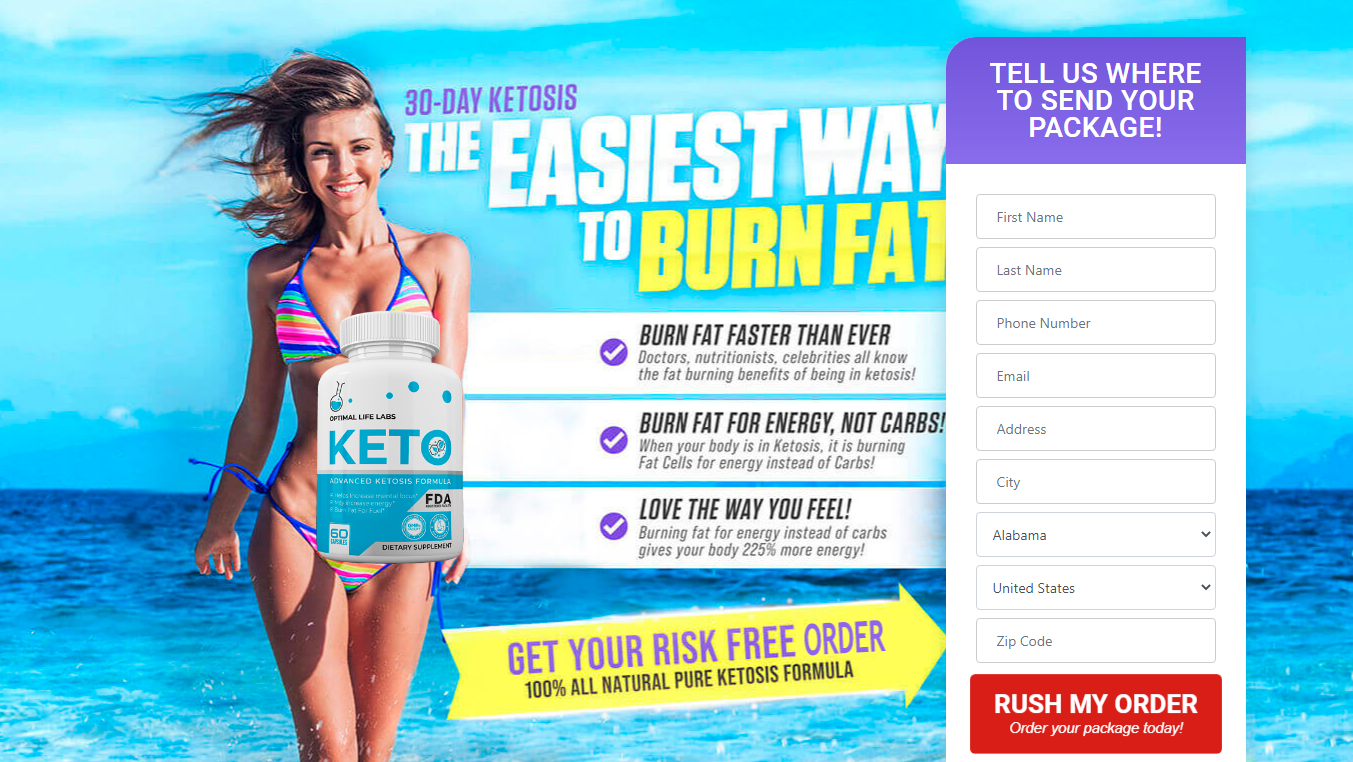 Optimal Life Labs Keto ®《Modify 2020》World #1 Ketogenic Diet Formula