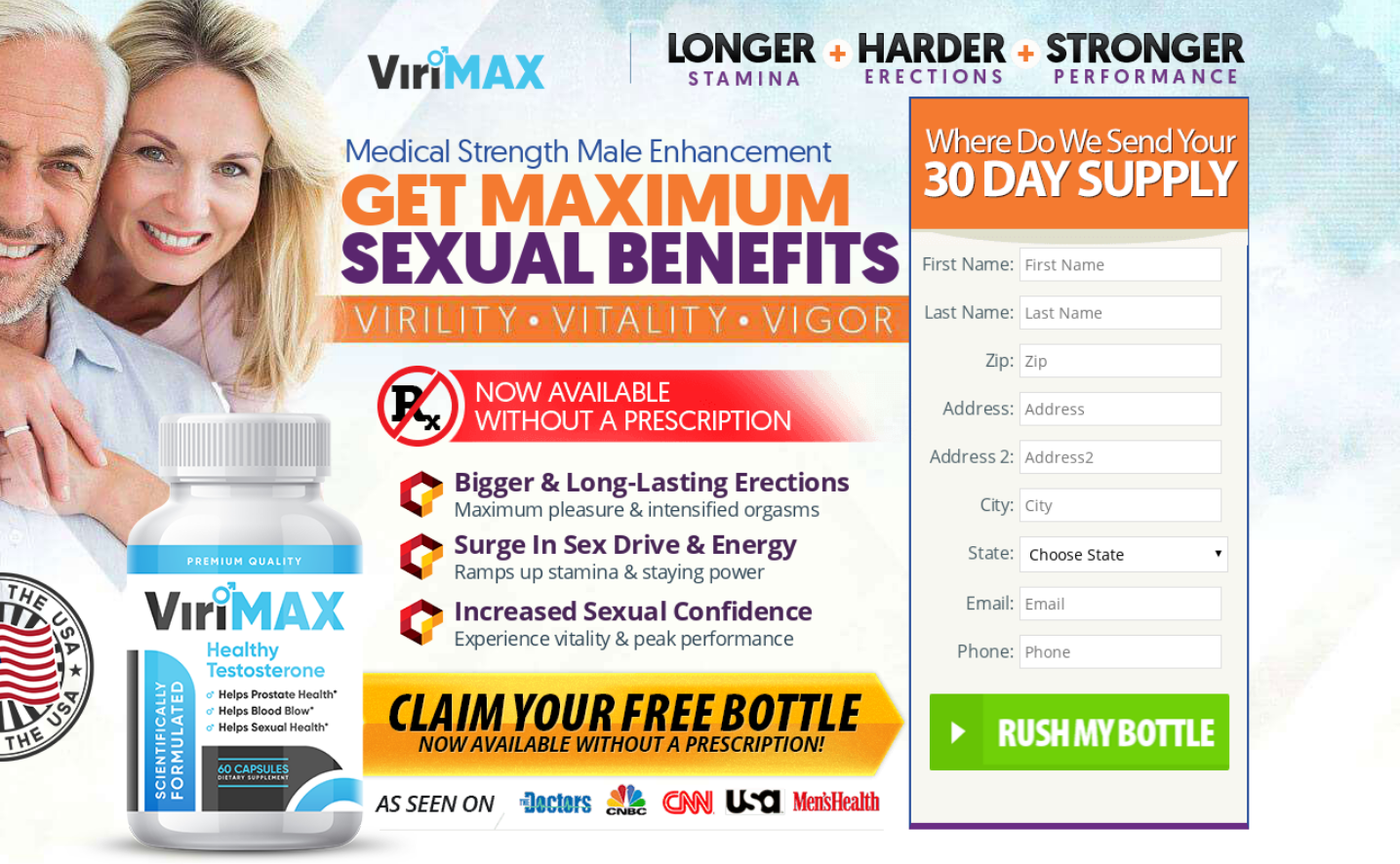 ViriMax Male Enhancement ® *UPDATE 2020* Does Its Really Works?