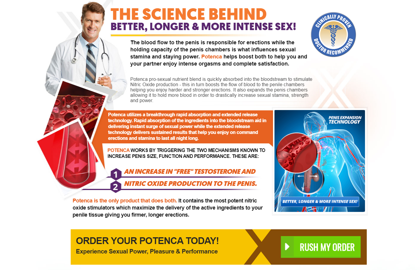 Potenca Male Enhancement [Potenca 100% Legit] Does Potenca Work?