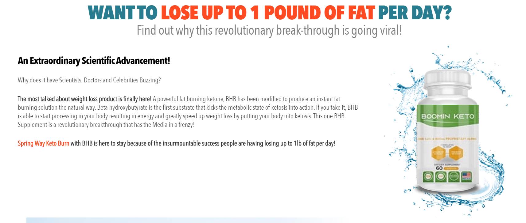 Boomin Keto Pills® ◤Must Read Before Buy◢ World #1 Ketofgenic Diet?