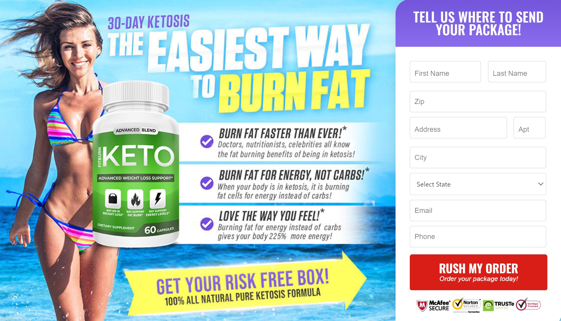 Fitburn Keto® – First Substrate That Kicks the Metabolic States of Ketosis!
