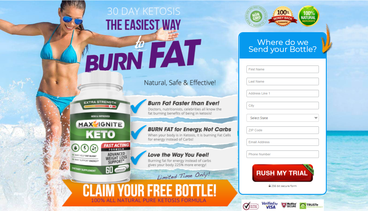 Max Ignite Keto ® - Faster Recovery From Exercise Maintain Lean Muscle!