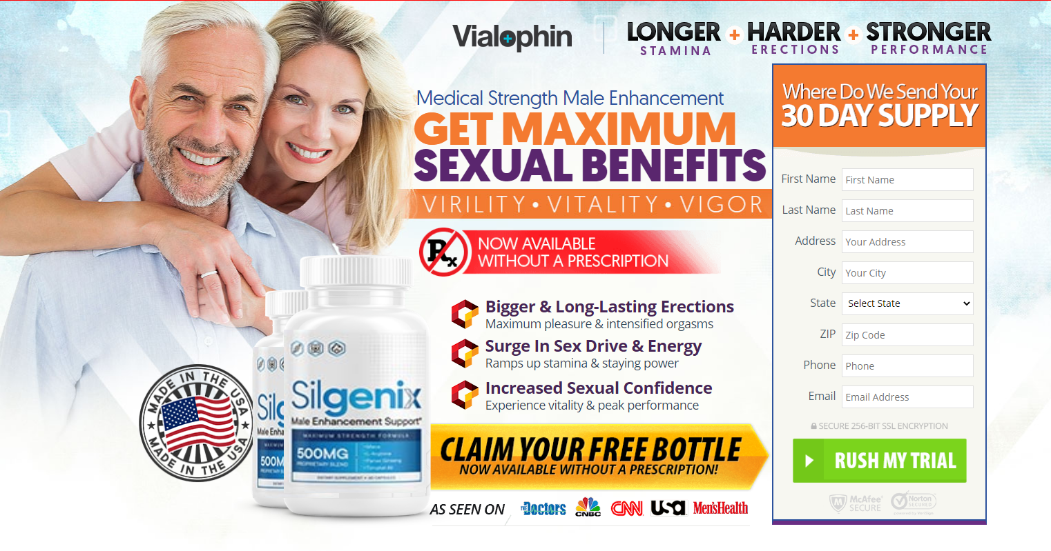 Silgenix Male Enhancement ® (UPDATE 2020) Price, Scam, Ingredients?
