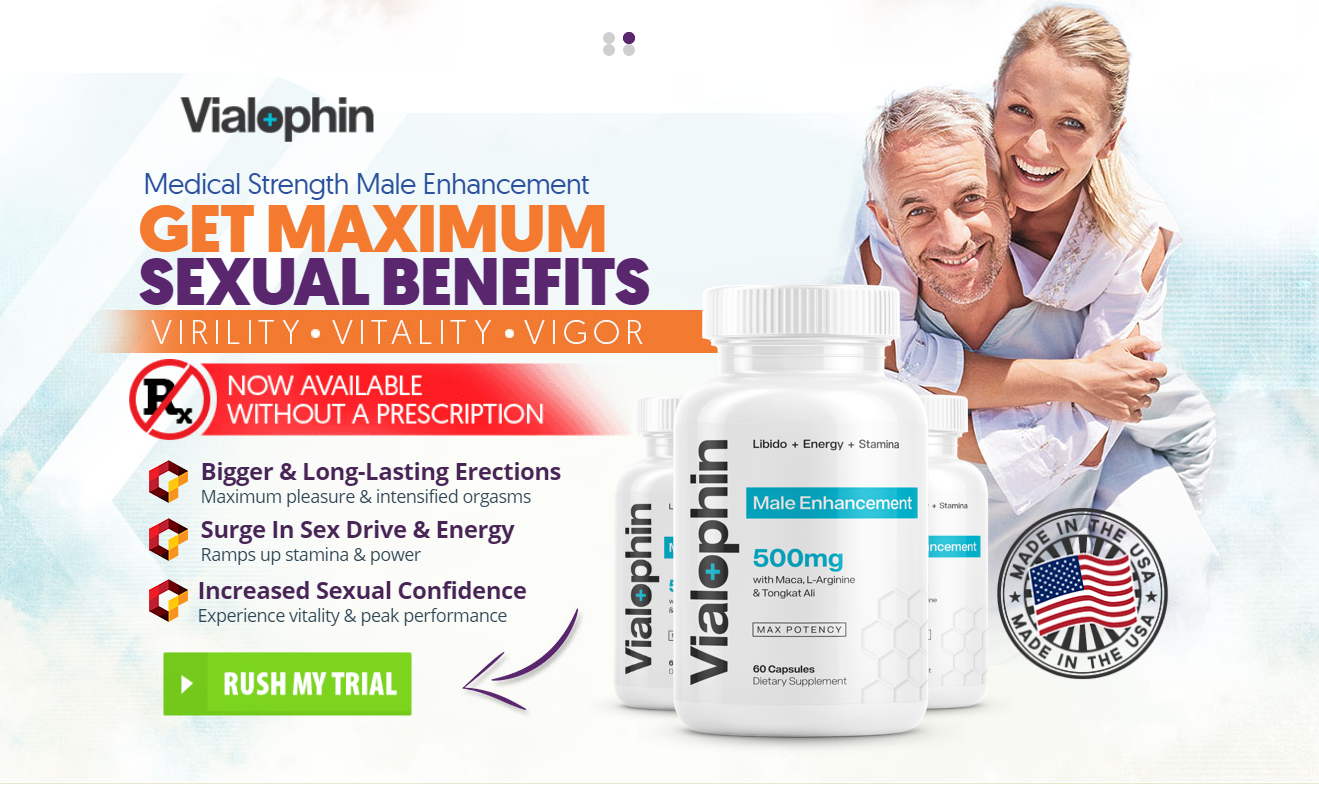 Vialophin Reviews - Full Guide: Big Goodbye to Pre-Mature Ejaculations!
