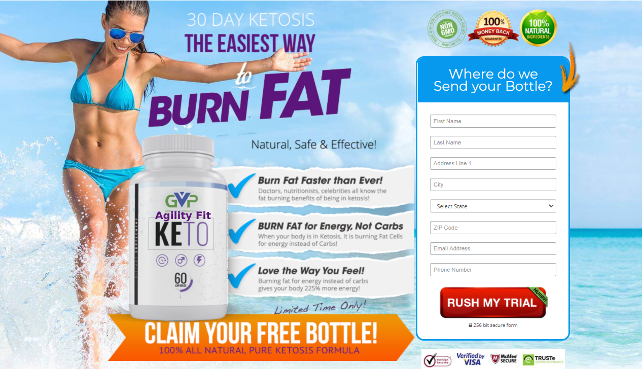 Agility Fit Keto Reviews® *New 2020* Natural, Safe & Effective Ingredients