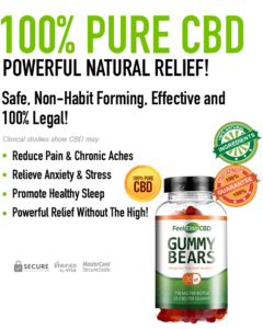 Feel Elite CBD Gummies - Multiple Strength Jars
