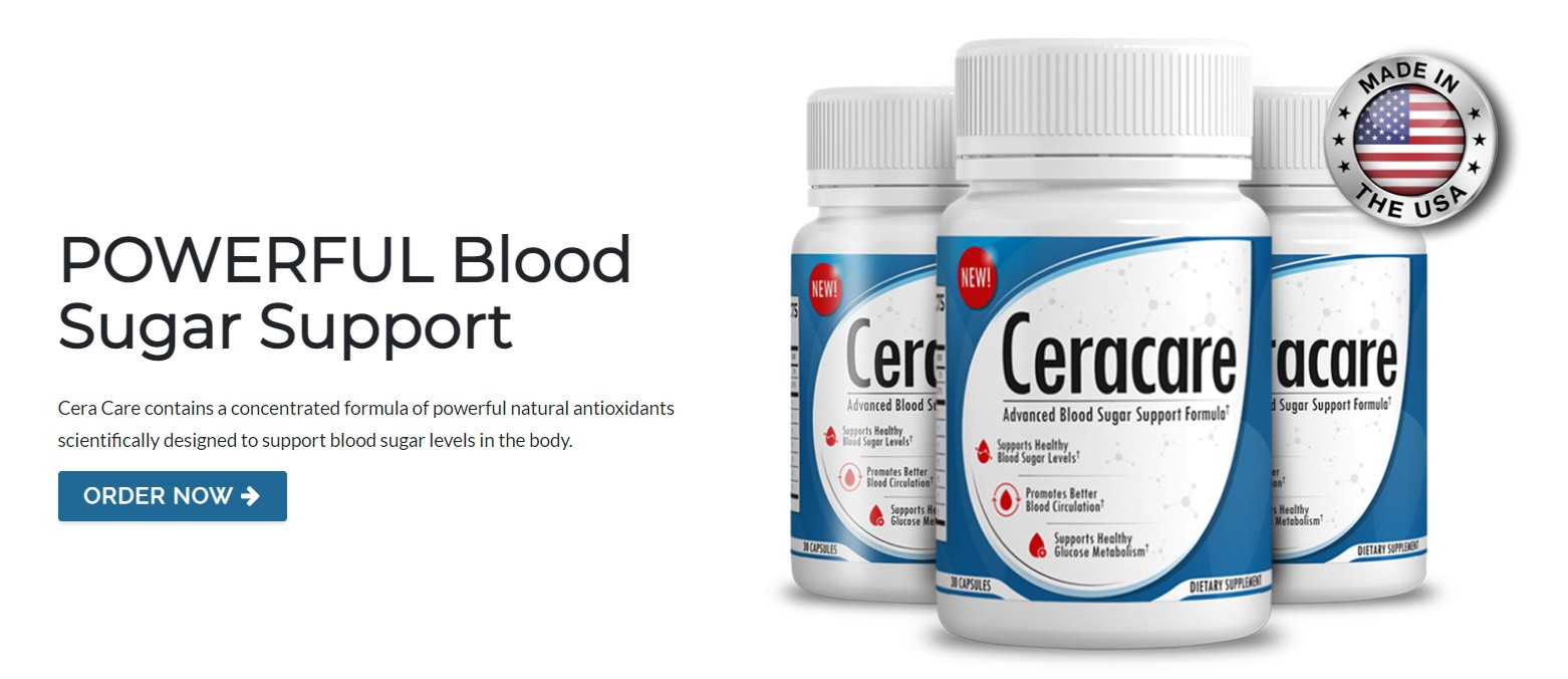 CeraCare Advanced Blood Sugar Support Formula - Its Really Works?