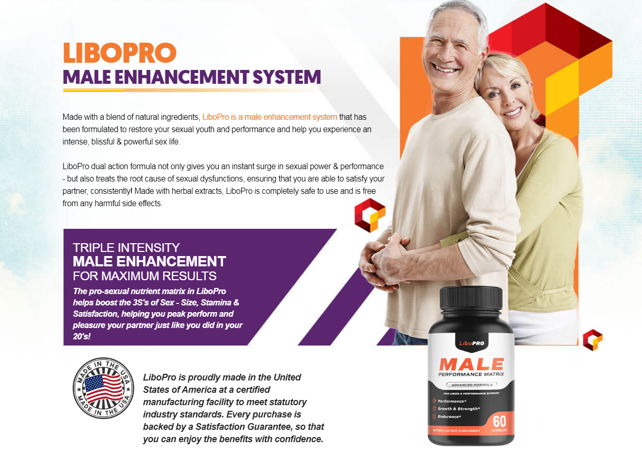 LiboPro Male Performance Matrix Pills (Modify 2021) Does Its Really Works?