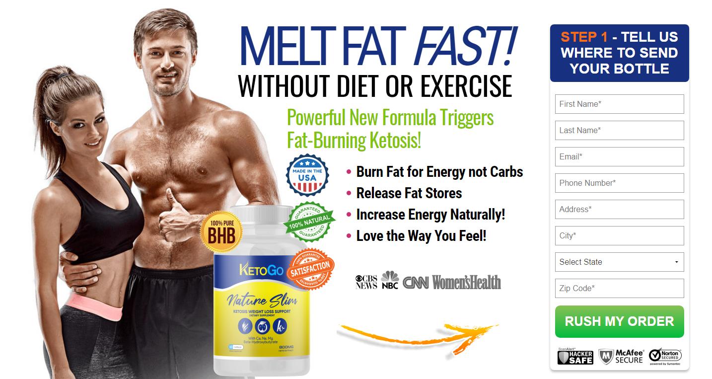 KetoGO Reviews (KetoGO Nature Slim) Fast Reduce Your Fat Burn?