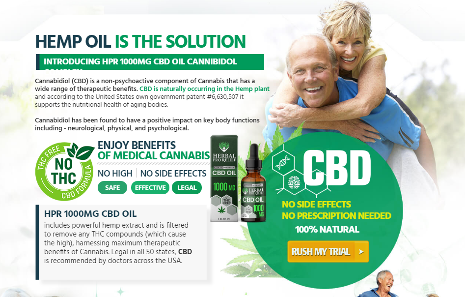 Herbal ProRelief CBD Oil - How it Uses - Its Really Works?
