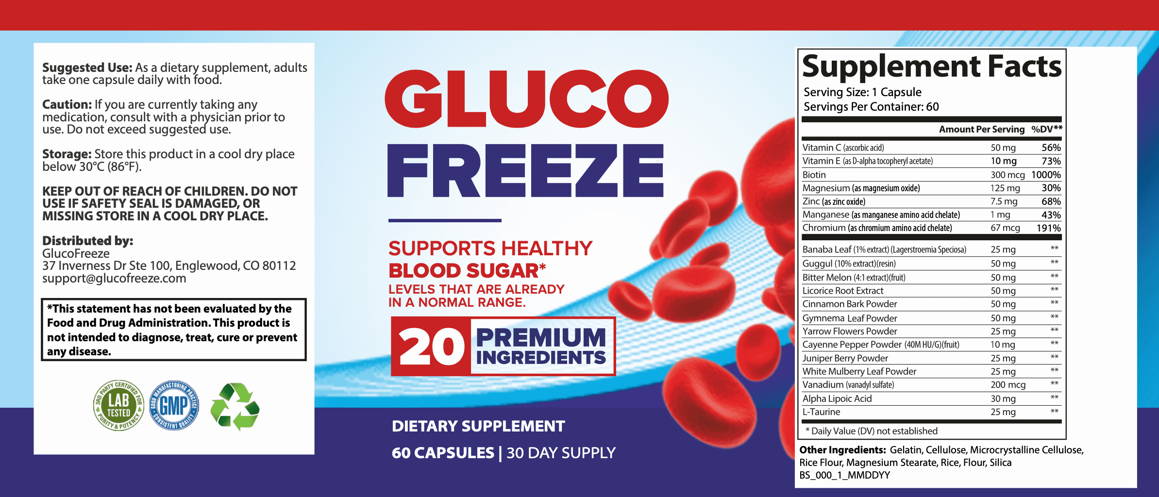 Gluco Freeze Reviews® - Gluco Freeze Support Healthy Blood Sugar?