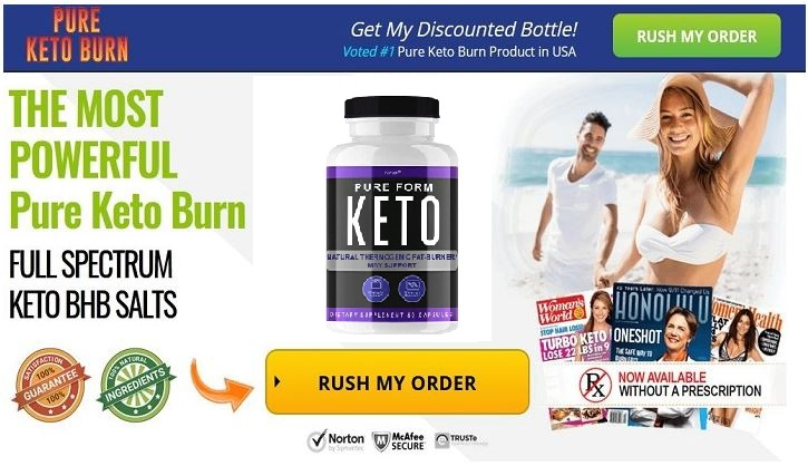 Pure Form Keto *SHOCKING EFFECTS* Fast Fat Burning Diet Pills