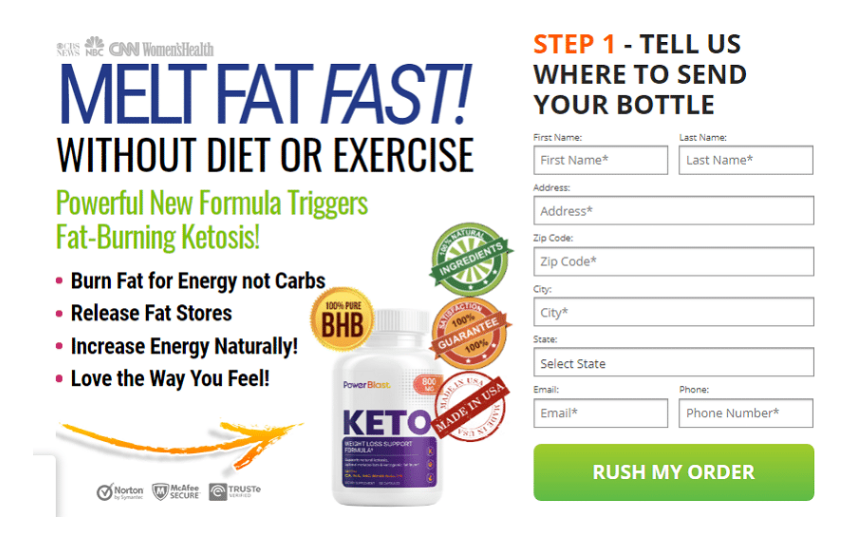 Power Blast Keto - Use Supplement with Real Results & Price?